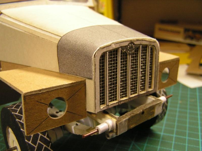 LKW G5 als Tankwagen Maßstab 1:20 gebaut von klebegold 82k10