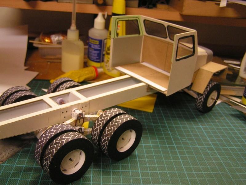 LKW G5 als Tankwagen Maßstab 1:20 gebaut von klebegold 84k10
