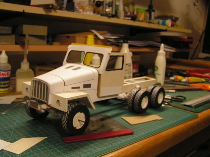 LKW G5 als Tankwagen Maßstab 1:20 gebaut von klebegold 97k10