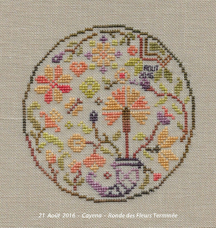 """""""Couronne de Fleurs"""" 2016-227"""