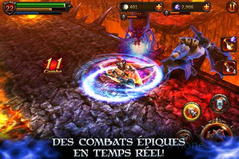 [JEU] ETERNITY WARRIORS 2 : Le deuxième volet du Beat Them All de Glu Mobile [Gratuit] Eterni10