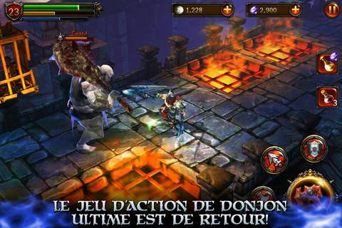 [JEU] ETERNITY WARRIORS 2 : Le deuxième volet du Beat Them All de Glu Mobile [Gratuit] Eterni11