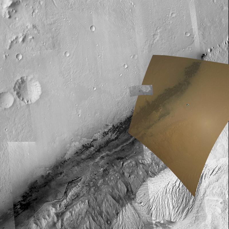 [Curiosity/MSL] Atterrissage sur Mars le 6 août 2012, 7h31 - Page 18 Gale_c11