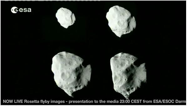 Rosetta : survol de l'astéroïde Lutetia - Page 2 Sans_t18