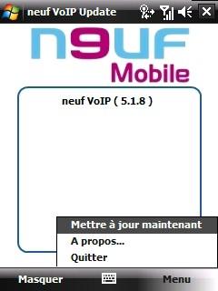 [TUTO] Paramétrage Neuf TWIN: VoIP + TV + MMS + ROM Custom Screen11