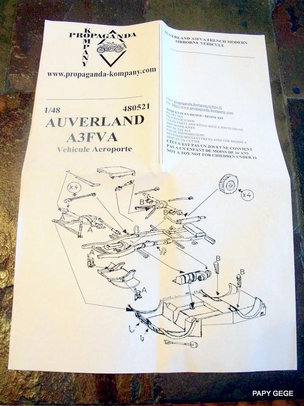 AUVERLAND A3F Propaganda au 1/48 01-01-11