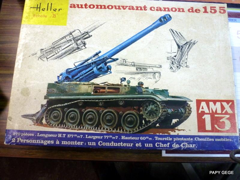 AMX 13 155 Automouvant au 1/35 de heller 01-p1010