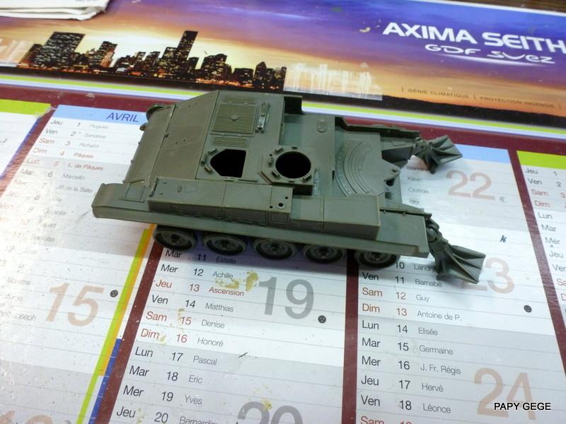 AMX 13 155 Automouvant au 1/35 de heller 02-p1010