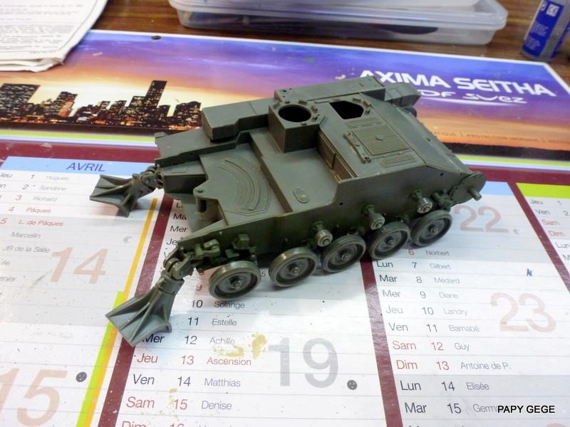 AMX 13 155 Automouvant au 1/35 de heller 03-p1010