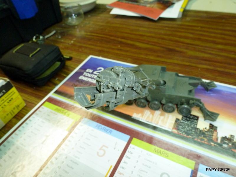 AMX 13 155 Automouvant au 1/35 de heller 07-p1010