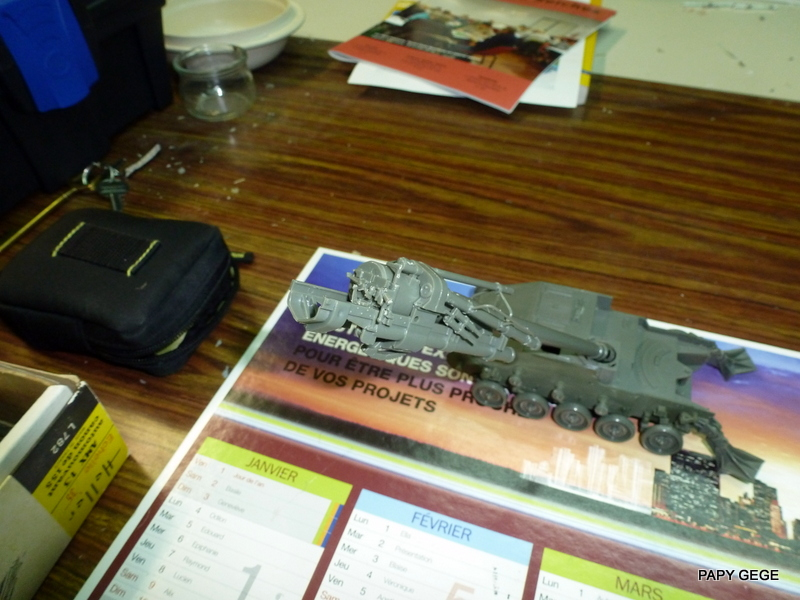 AMX 13 155 Automouvant au 1/35 de heller 08-p1010