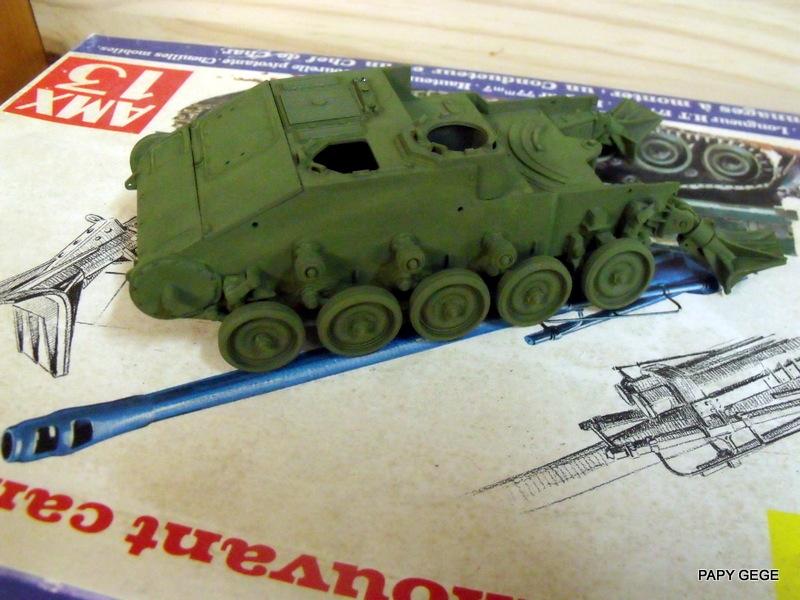 AMX 13 155 Automouvant au 1/35 de heller 09-pds10