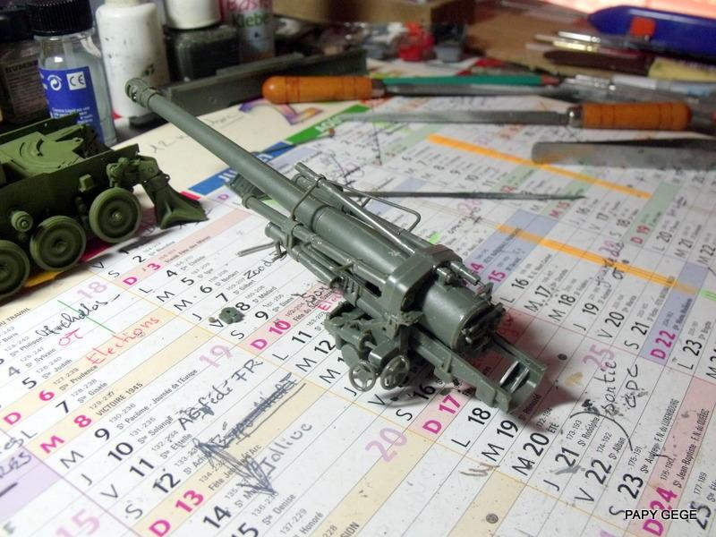 AMX 13 155 Automouvant au 1/35 de heller 13-pds10