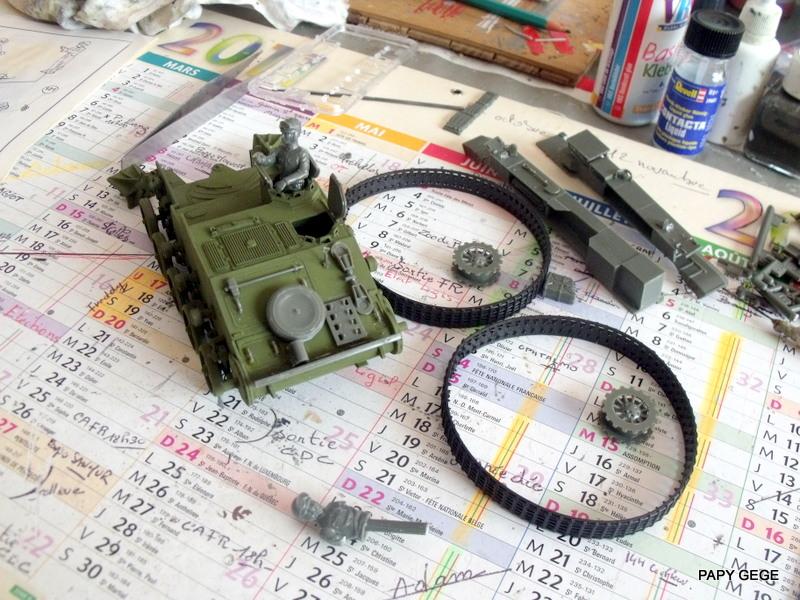 AMX 13 155 Automouvant au 1/35 de heller 15-pds10