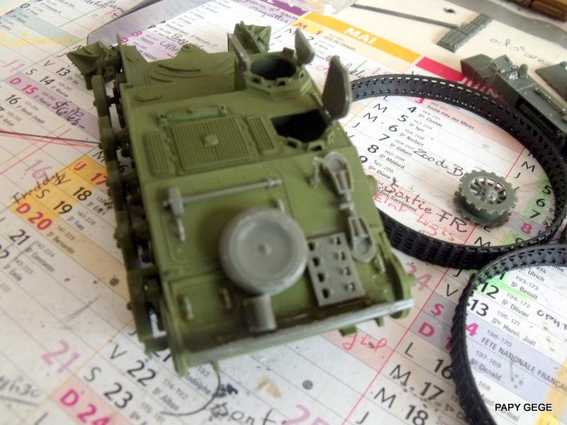 AMX 13 155 Automouvant au 1/35 de heller 17-pds10