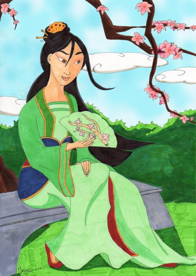 Concours de production artistique : Intersaison : Thème libre. - Page 11 Mulan10