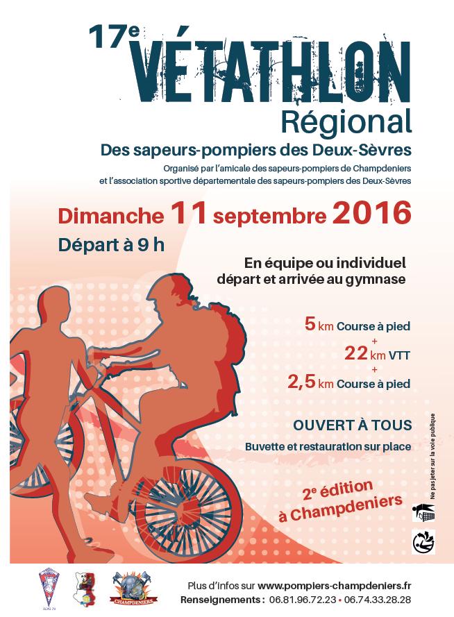 Champdeniers (79) - 11 Sept 2016 Vétathlon Vytath10