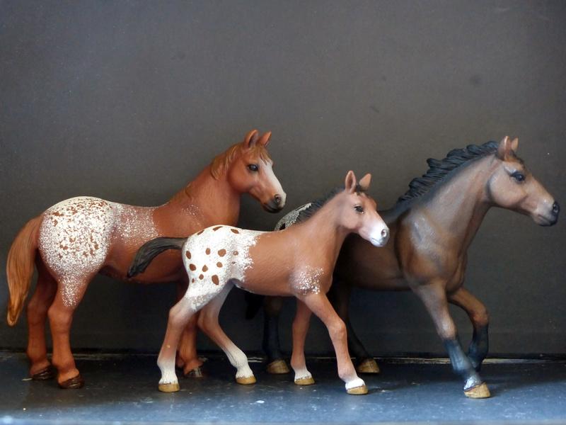 Schleichs en Vrac! (et autres chevaux à l'échelle) P1300510
