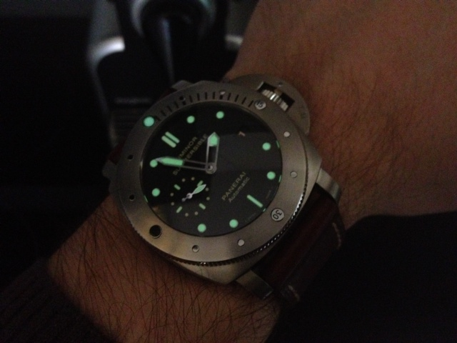 VENDU Panerai submersible, pam 305.Merci le .fr! Photo10