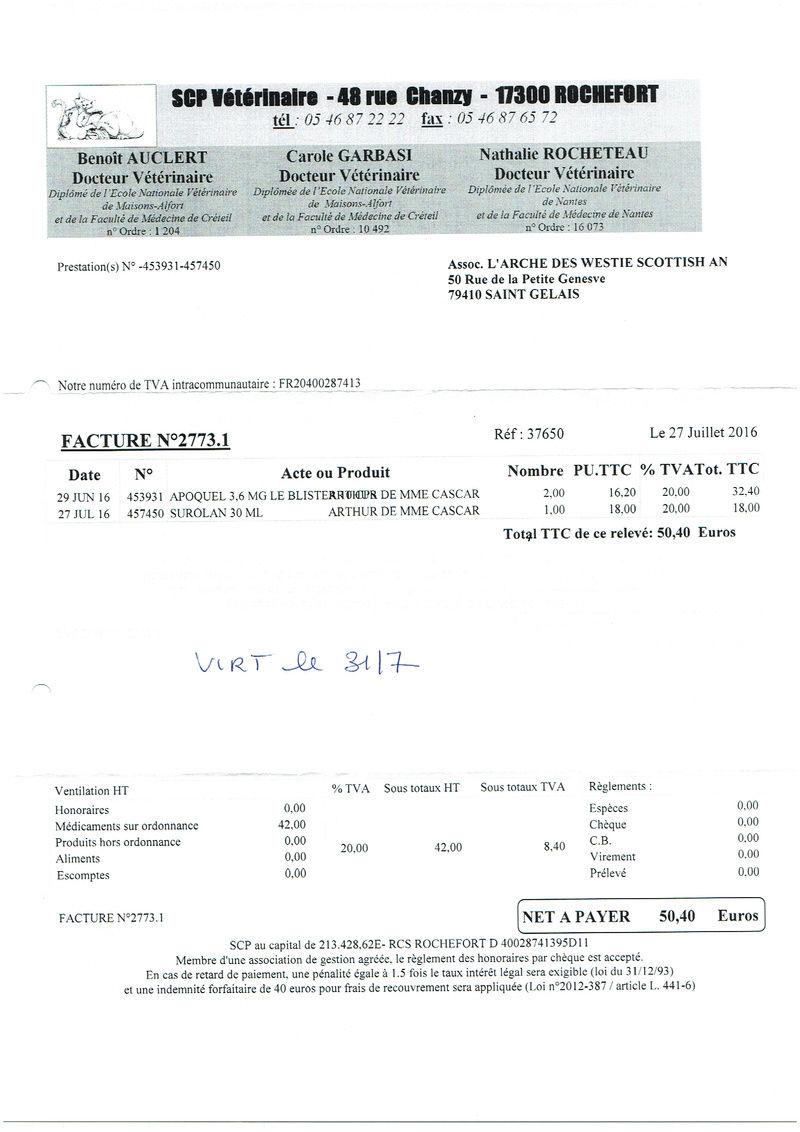 ARTHUR WESTIE NE EN 11/2005 DEPT 17 EN FA  - Page 2 Numyri39