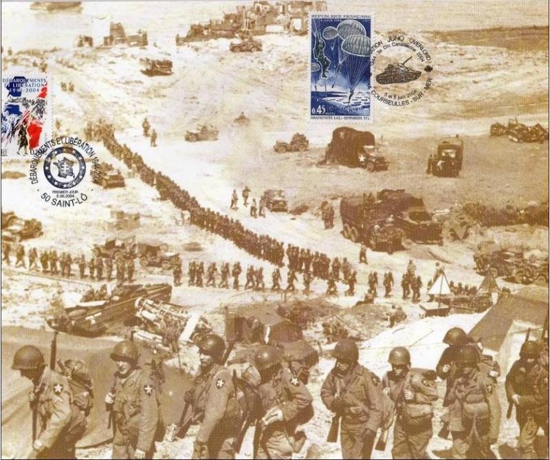 6 juin 1944, Bataille de Normandie, Libération. 592_0011