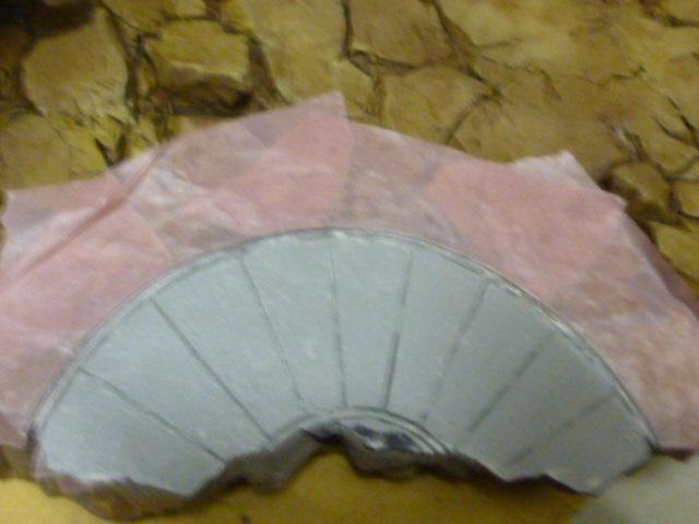 reparation retouche d un socle resine P1120213