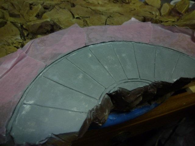 reparation retouche d un socle resine P1120214
