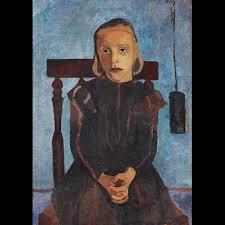 Paula Modersohn-Becker au Musée d'Art moderne de la Ville de Paris Mb712