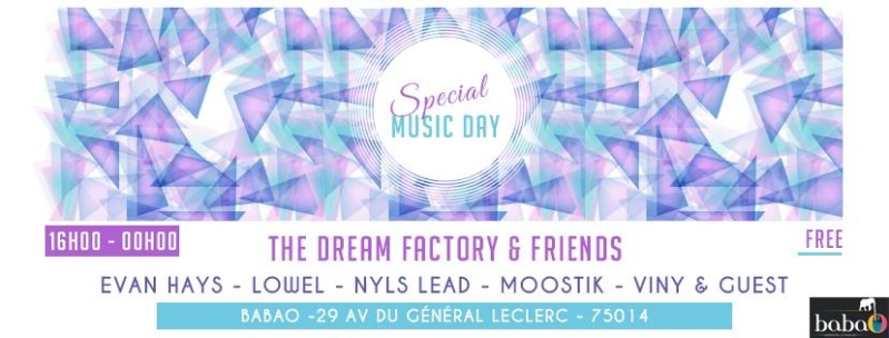 Dream factory & friends: 21/06/16 - Paris 14: house... teck Visuel10
