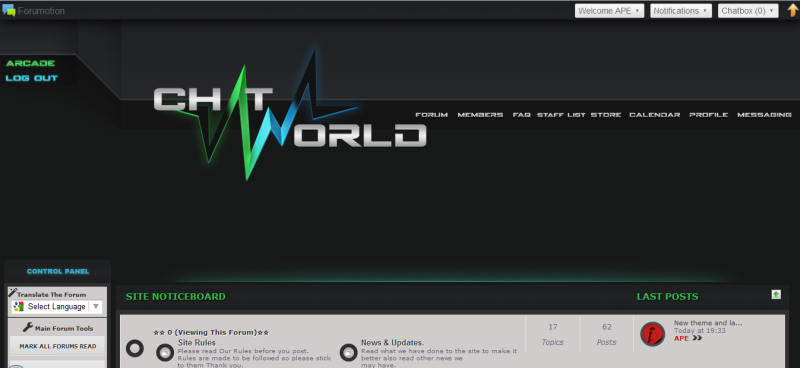 Chat World Chat site Captur21