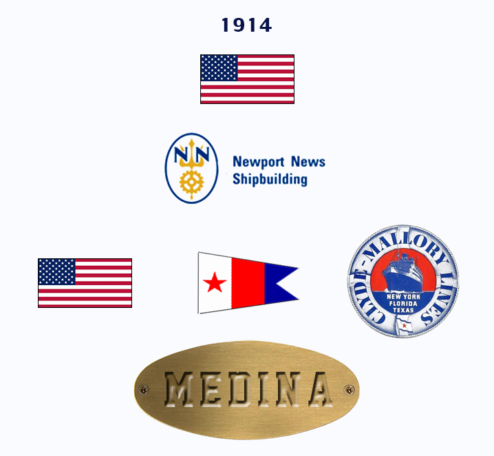 'Franca C.' - anche Medina-Roma-Doulos - 1914 1_intr10