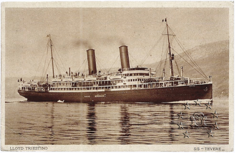 'Tevere' - 'Gablonz'  - 1912 7_clas10