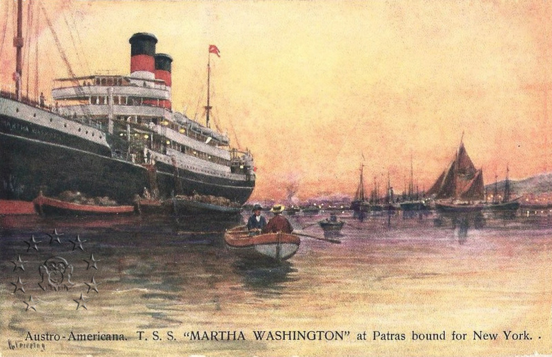 'Martha Washington' - Austro Americana  - 1907 7_mart10