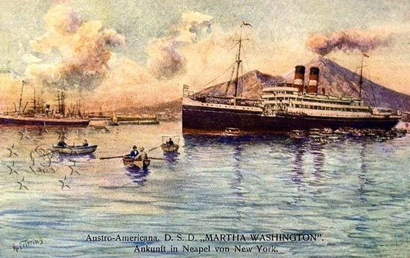 'Martha Washington' - Austro Americana  - 1907 9_quad11