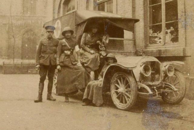 [Histo] FANY - les ambulancières anglaises 33210