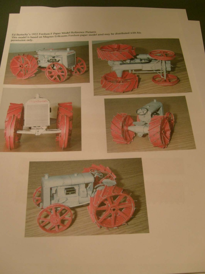 Fordson Tractor in 1:25 S6307169