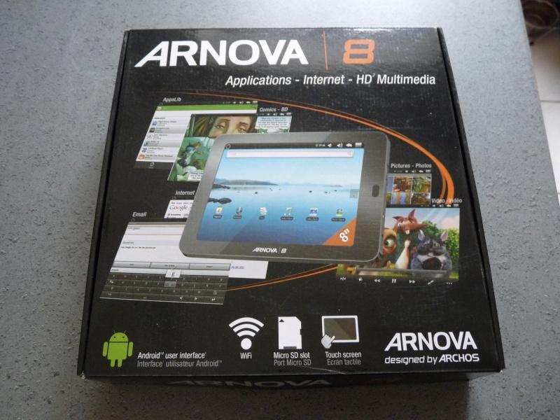 [VENTE] Tablette tactile Archos Arnova 8 - 8Go - NEUVE P1070610