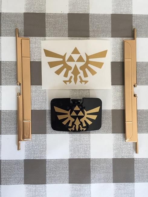 Custom Nintendo 64 sur le thème de Zelda Img_3422