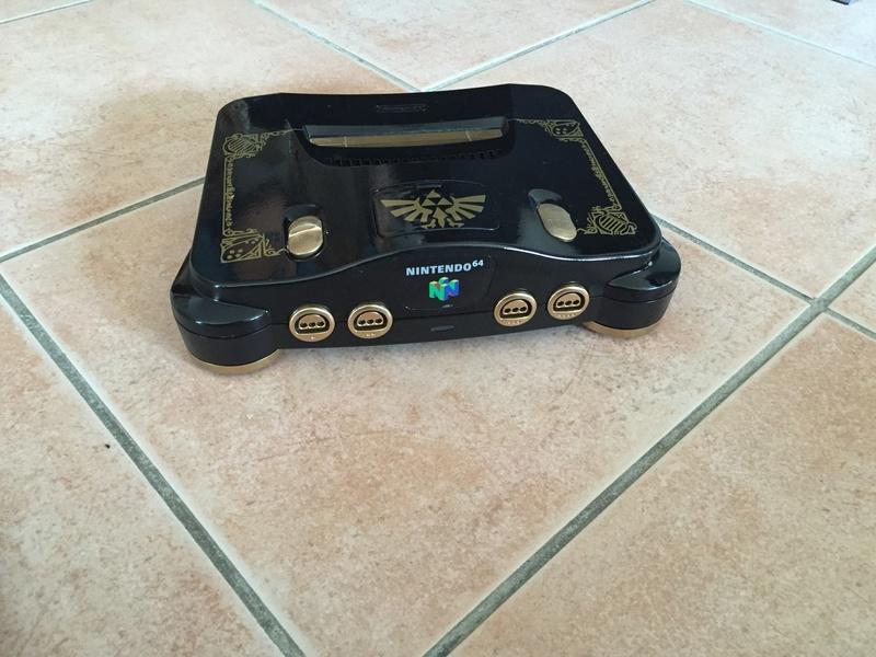 Custom Nintendo 64 sur le thème de Zelda Img_3423