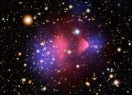 Choque de duas galáxias ajuda a desvendar mistério da matéria negra Aleqm510