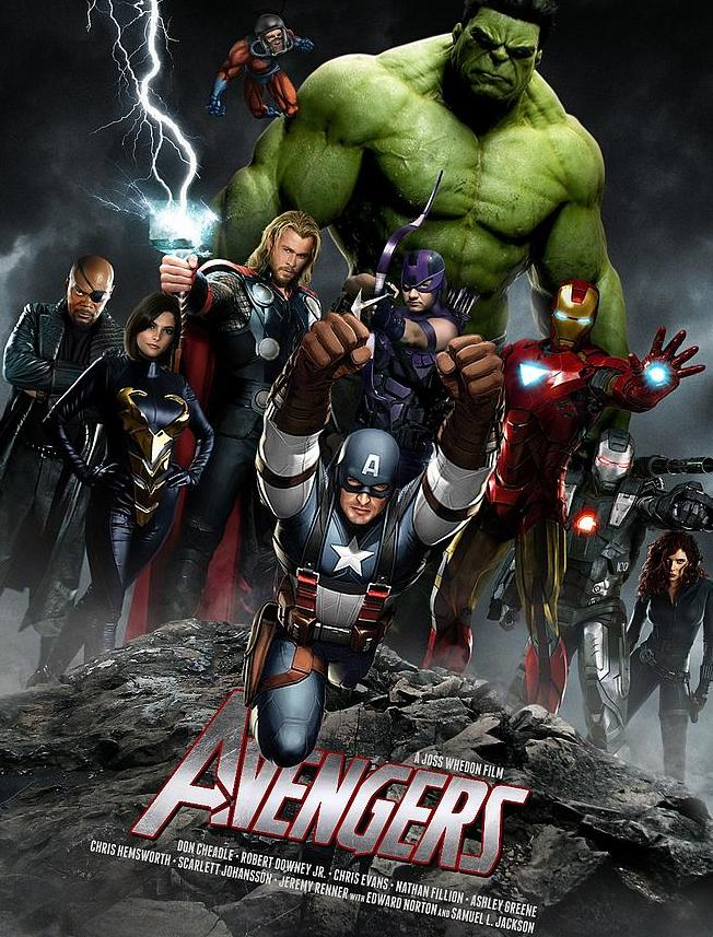 THE AVENGERS : AGE OF ULTRON Sans_t12