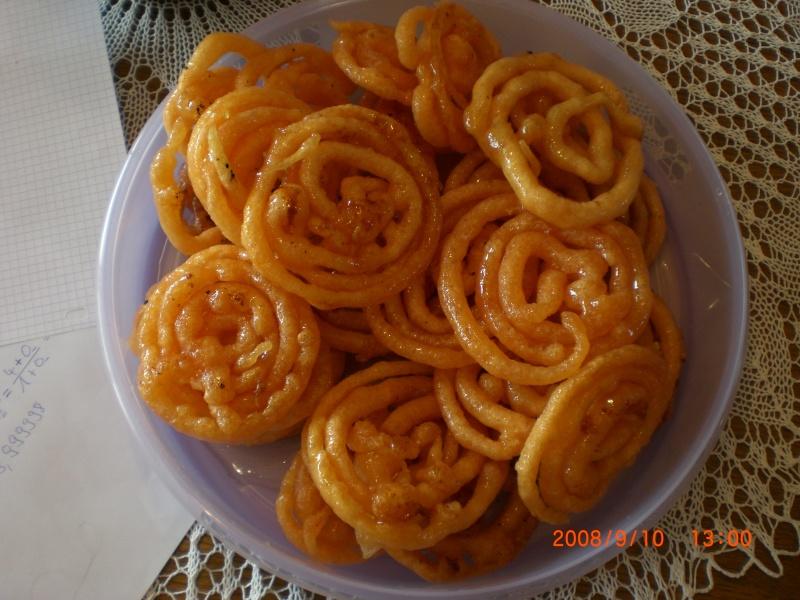 gâteaux algériens Zlabia10
