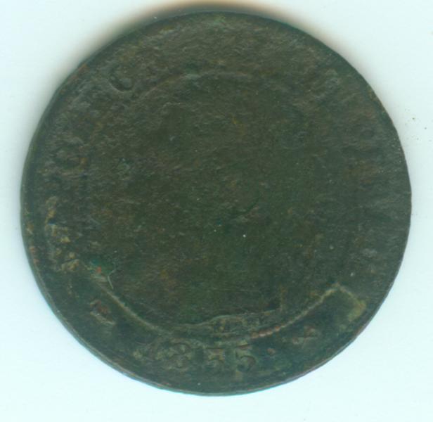 IIe Empire - Napoléon III - 1 centimes 1855 B 1ct18510