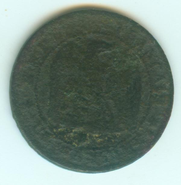 IIe Empire - Napoléon III - 1 centimes 1855 B 1ct18511