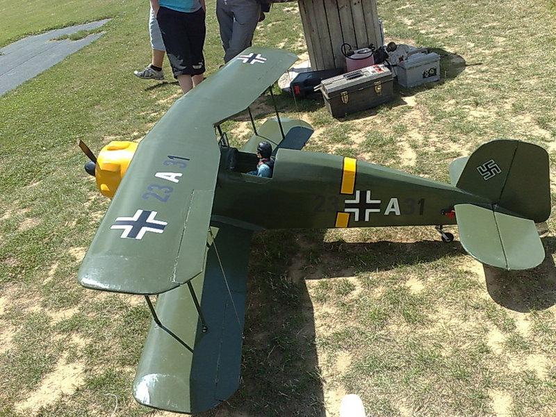 Bucker Jungman 131 (bombardement de nuit des troupes Russes en 1942) 00310