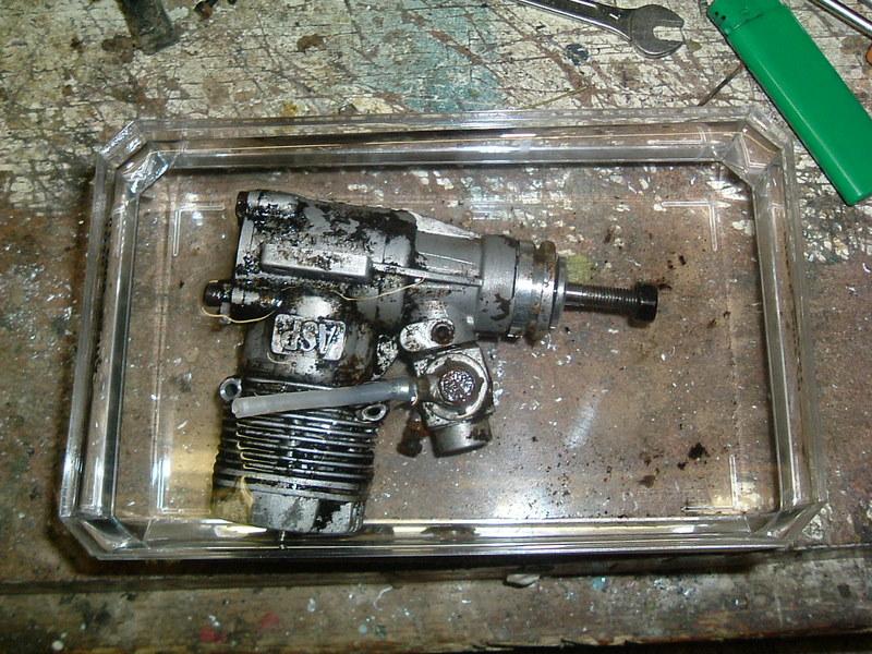 Démontage du  moteur du Calmato Dscf2615