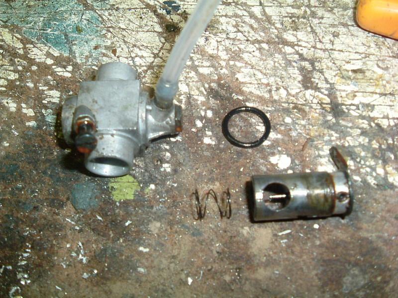 Démontage du  moteur du Calmato Dscf2619