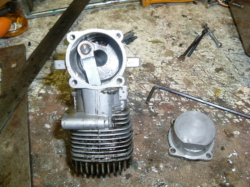 Démontage du  moteur du Calmato Dscf2620