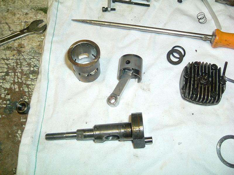 Démontage du  moteur du Calmato Dscf2621