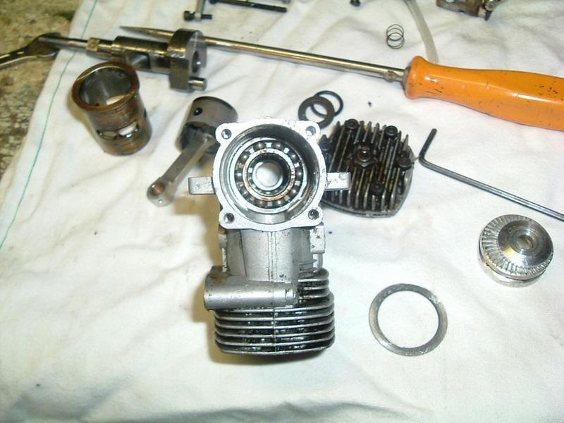 Démontage du  moteur du Calmato Dscf2622